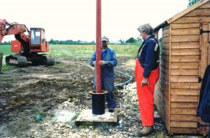 Bore hole installation